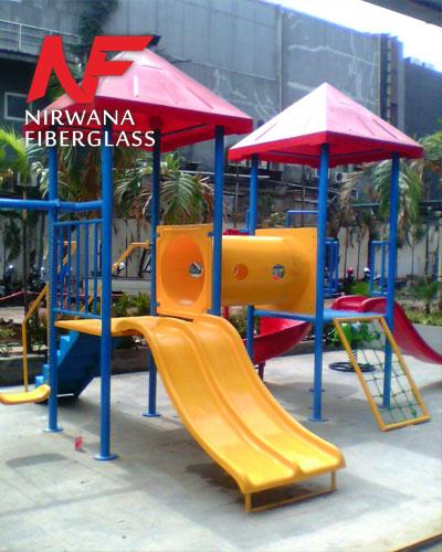 Playground anak 2 atap